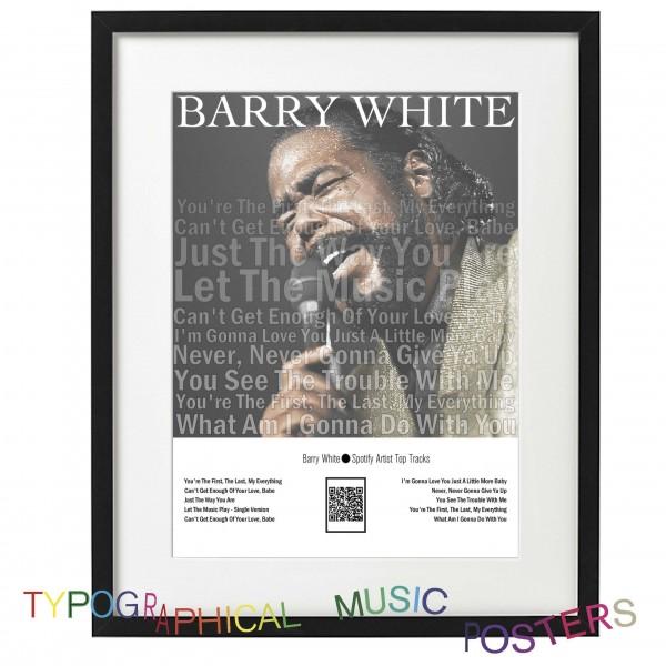 Barry White Spotify Artist Top Tracks