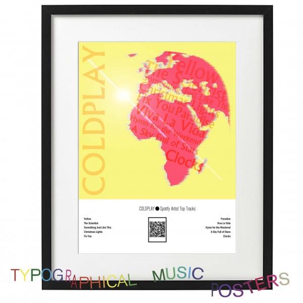 COLDPLAY Spotify Artist Top Tracks